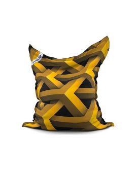 The Printed Bags Abstract gold - JUMBO BAG