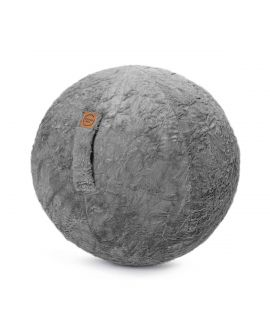 Sitting Ball Fluffy Gris - JUMBO BAG