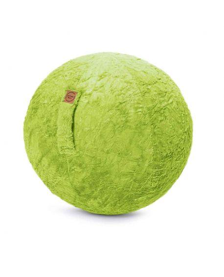 Sitting Ball Fluffy Vert - JUMBO BAG