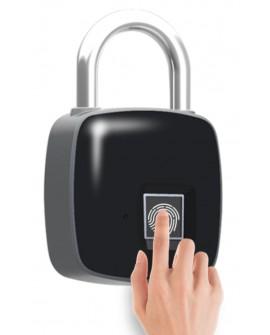 Cadenas à empreintes digitales étanche antivol biométrique