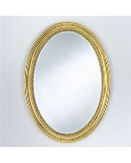 Miroir AMANDINE Classique Oval Gold 75x105 cm