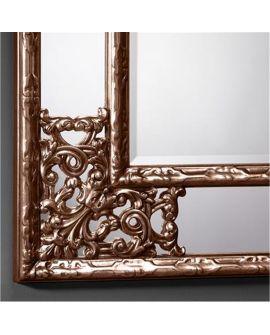 Miroir encadré Angolo METALLIC ** Rectangle 85 X 108