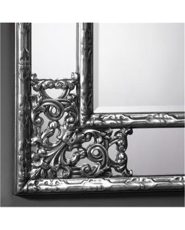 Miroir ANGOLO METALLIC Gothique Rectangulaire  83x102 cm