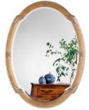 Miroir SUITE GOLD Gothique Ovale Dorée 67x90 cm