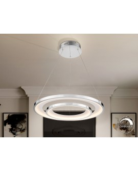 LAMPE LED  LARIS  82Ø CHROME