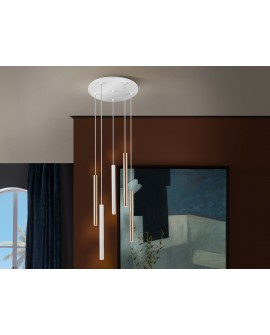 LAMPE  VARAS  OR/BLANC 5L