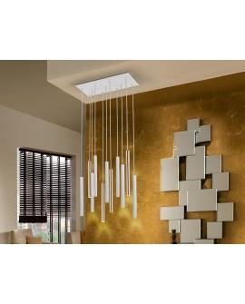 LAMPE   VARAS   OR/BLANC 11L