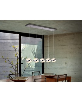 LAMP  LED   LIPSE   5 L CHROME