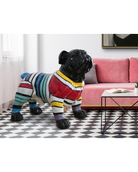 FIGURE GR BULLDOG DÉCO RAIES