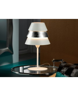 LAMPE TABLE ISIS 1L BLAN /ARG