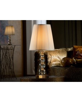 LAMPE TABLE MERCURY CHAMPAGNE