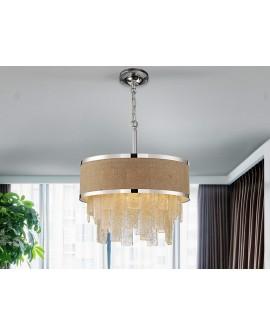 LAMPE BETH 3L FIL DE FER Ø45