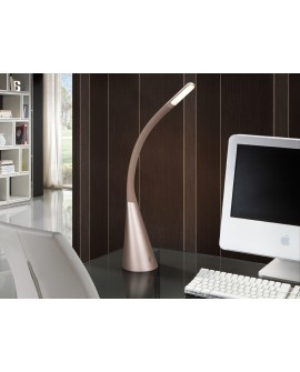 LAMPE TABLE LED LAIN CHAMPAG