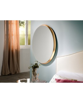 MIROIR ARIES OVAL 54X64 OR