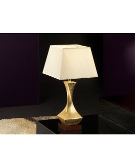 LAMPE TABLE DÉCO OR PET  1L