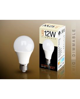 AMP LED DIMMABLE E27 3000K 12W