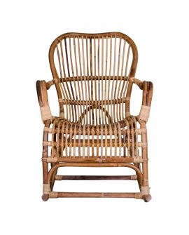 Rocking Chair Celta en rotin naturel