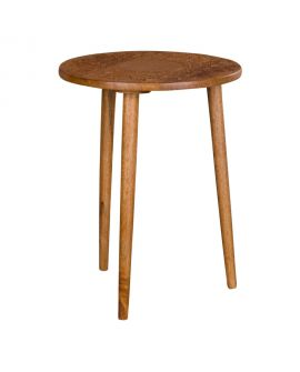 Table d'appoint Makalu en bois de manguier naturel