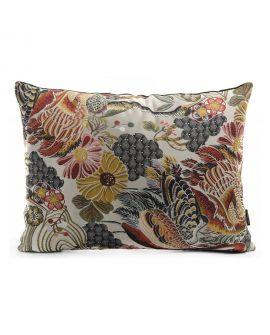 Coussin Alvito avec motif floral 60x45cm