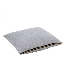 Coussin Ferrel gris clair 45x45cm