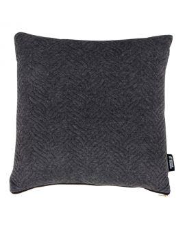Coussin Ferrel gris foncé 45x45cm