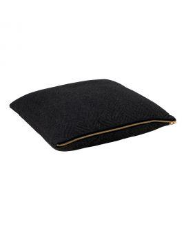 Coussin Ferrel noir 45x45cm
