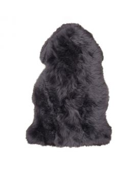 Peau d'agneau gris 50x85 cm