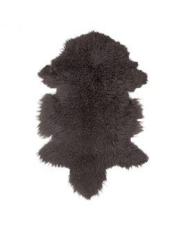 Peau d'agneau de Mongolie aux champignons 50x90 cm