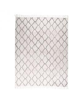 TaTapis en coton naturel avec impression 240 x 180 cm