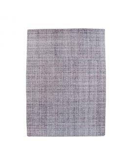 Tapis Virginia - Tapis tissé à la main en poil gris givre 8mm 160x230 cm