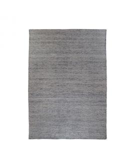 Tapis Utah - Tapis tissé à la main en tissage plat gris graphite 160x230 cm