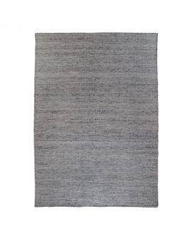 Tapis Utah - Tapis tissé à la main en tissage plat gris graphite 200x300 cm