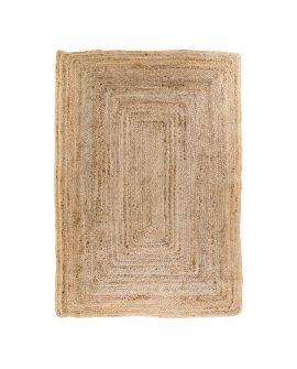 Tapis Bombay - Tapis en jute naturel tressé 240x180 cm