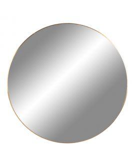 Miroir Jersey avec cadre en laiton Ø80 cm