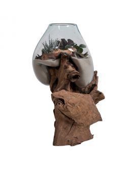 Goutte d'eau Saint- Marin avec verre h50 cm