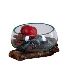Goutte d'eau Saint- Marin avec verre 15xH15 cm