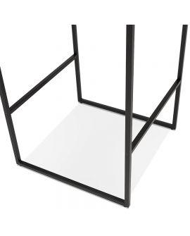 Table bar design TIKAFE Wengé