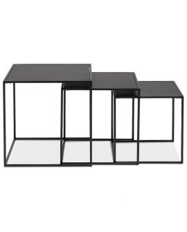 Table basse design MENSOSO NOIR