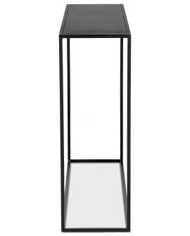 Table haute design KONSOL NOIR
