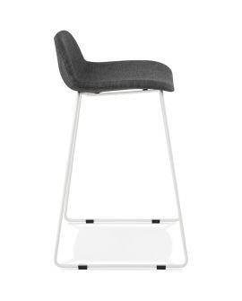 Tabouret de bar design VANCOUVER MINI GRIS FONCÉ
