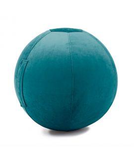 Balle gonflable Celeste Velvet-JUMBO BAG BLEU PAON
