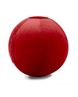 Balle gonflable Celeste Velvet-JUMBO BAG ROUGE SCARLET