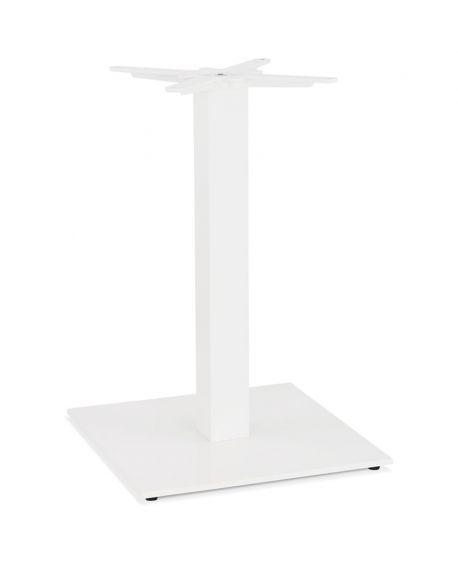 Pied de table sans plateau  BLANC