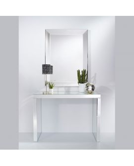 Miroir Console Tavolo L Klein meubel Miroir biseauté 131 X 120