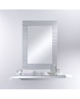 Miroir Salle de bain Sonar Rect. Rectangle Miroir+verre clair 89 X 119