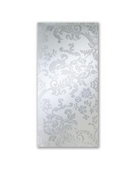 Miroir encadré Cousu Rectangle Miroir + Transparant 80 X 152