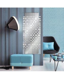 Miroir encadré Tessutti Rectangle Miroir + Transparant 67 X 166