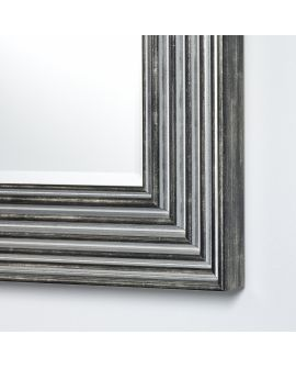 Miroir encadré Ronda Dark XL Rectangle 91 X 199