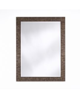 Miroir encadré Toledo Bronze Rect. Rectangle Couleur bronze 92 X 123