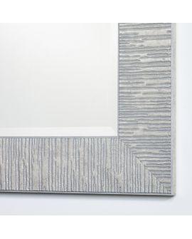 Miroir encadré Toledo Silver Rect. Rectangle Couleur argent 92,5 X 123